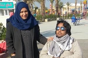 irachena e figlio