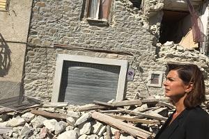 1 - In visita nei comuni delle Marche e del Lazio colpiti dal terremoto